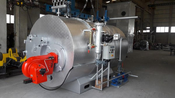 Steam Boilers Fired by Liquid & Natural Gas