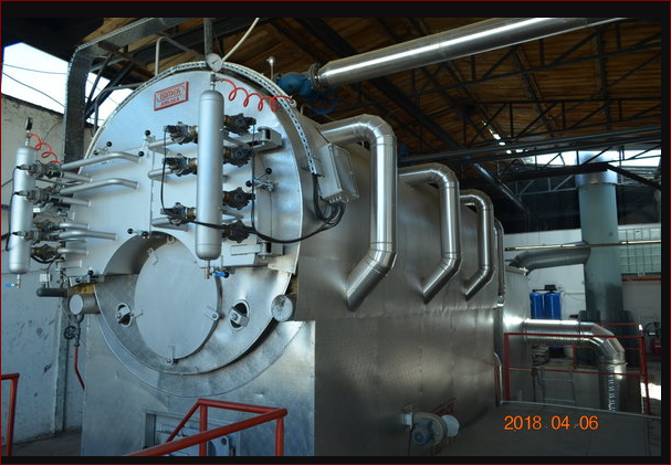 Water Tube Fired Waste Heat & Recovery Boilers